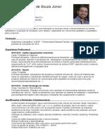 Curriculum Vitae - Alexandre Marinho de Souza Jr