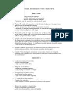 Ejemplos Del Método Inductivo y Deductivo