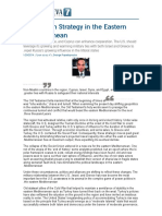 2014.01.29 - A Southern Strategy in the Eastern Mediterranean