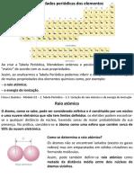 Mod_Q1_Conteúdos - Variação Do Raio Atómico e Energia de Ionização