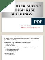 Hot Water Supply