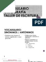 T2  VOCABULARIO