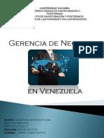 Gerencia en Negocios en Venezuela Juan Carlos Rivas