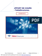 Tekla Structures Exercice