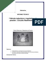 Informe_Hidraulica reductora