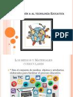 Introducción a Al Tecnología Educativa Gaby