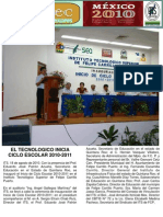 INICIO DE CICLO 2010-2011