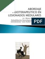 ABORDAJE FISIOTERAPEUTICO EN LESIONADOS MEDULARES.pptx