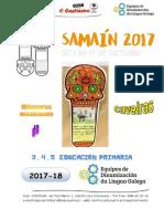 Samaín 2017 - Caveiras Mexicanas - CEIP O Castiñeiro