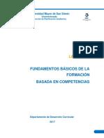 Lectura 1 Fundamentos Básicos Sobre La Formación Basada en Competencias