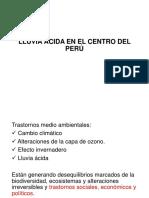 Lluvia Ácida en El Centro Del Perú