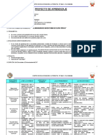 Proyecto de Aprendizaje Fase i -----2017 - II Colcabamba
