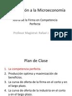 Introducción a La Microeconomía - Diapositivas6 -2016I
