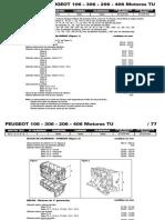 PEUGEOT 106 - 306 - 206 - 406 Motores TU.pdf
