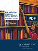 Shanahan National Reading Panel Report Advice for Teachers