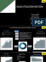 Team 8_Enterprise Sales Telecom Sector