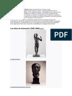 Biografía Rodin