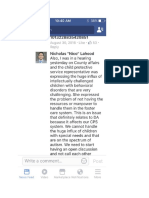 Facebook Screen Shot 1