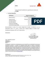 Certificado de Calidad Sikadur 31 HMG