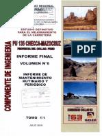 41 Informe de Mantenimiento Rutinario y Periodico