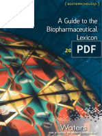 Biopharmaceutical Lexicon