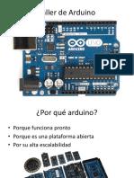 Curso de Arduino Semana de Asociaciones 2017 Sin Pistas