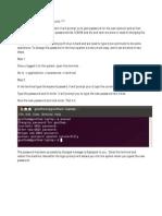 How to Change Password in Ubuntu
