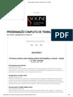 Programação Completa de Trabalhos 2017 _ SOCINE