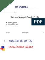 EstadíStica Modulo I CS
