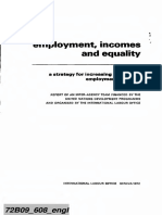 ILO Employment Incomes Equality 1973