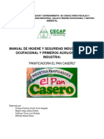 Documento Final Del Manual de Seguridad Pan Casero