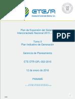 Tomo II Plan Indicativo de Generación 2015-2029