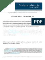 Jurisprudência Em Teses 73 - Servidor Público - Remuneração