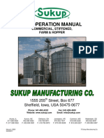 Sukup - Bin Operation Manual