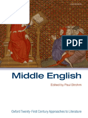 oxford middle english 2007 pdf | Beowulf | Library And Museum