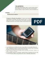 Cómo Tocar La Guitarra