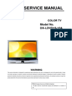 Service Manual DX LDVD19 10A