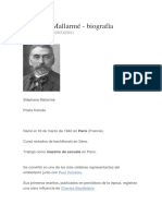 Stéphane Mallarmé Biografia