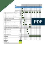 Cronograma Tesis Mejoramiento Conductual