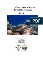 Review of the Status of Marine Turtles in the Maldives 2016