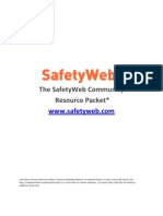 SafetyWeb Community Resource Packet