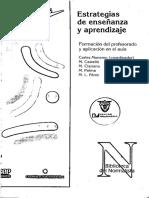 Monereo_1998 - Estrategias de Enseñanza y Aprendizaje