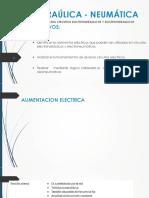 6.- Hidraúlica - Neumática - Elementos Electricos
