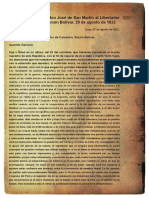 Carta Bolivar
