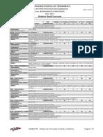 Ementa do Curso de Engenharia da Computação UFPE - Perfil 3002