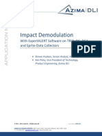 App NOTE 512 Impact Demod With ExpertALERT 80004240