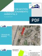 Seminario de Gestión y Acondicionamiento Ambiental II