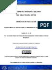 2013 Discriminacion Hacia El Trabajo Informal Artistico