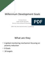 Millenium Development Goals