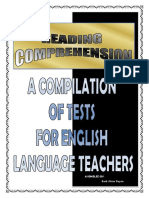 Compilation of Reading Comprehension Tests